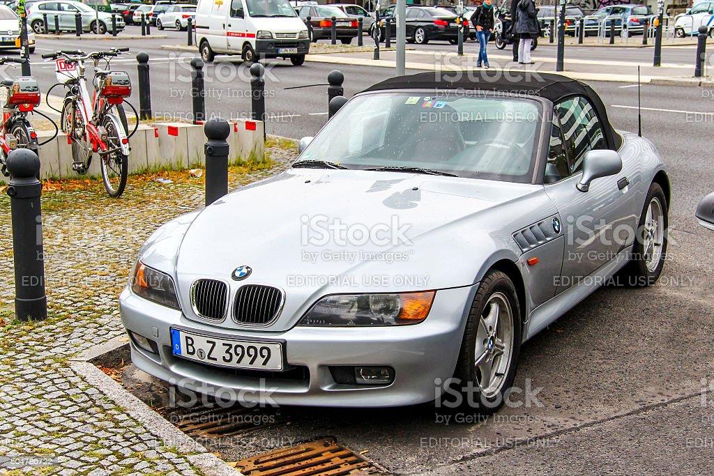 BMW E36/7 Z3 stock photo