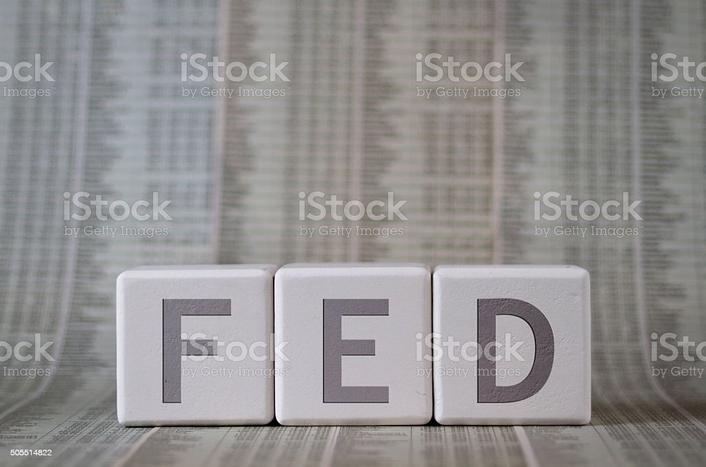 FED stock photo