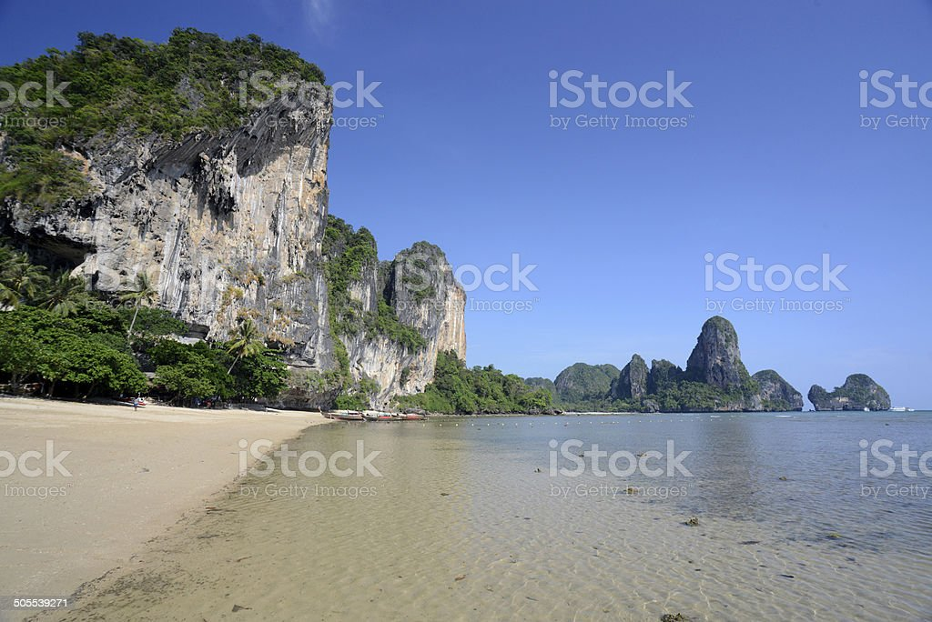 THAILAND KRABI RAILAYBEACH stock photo
