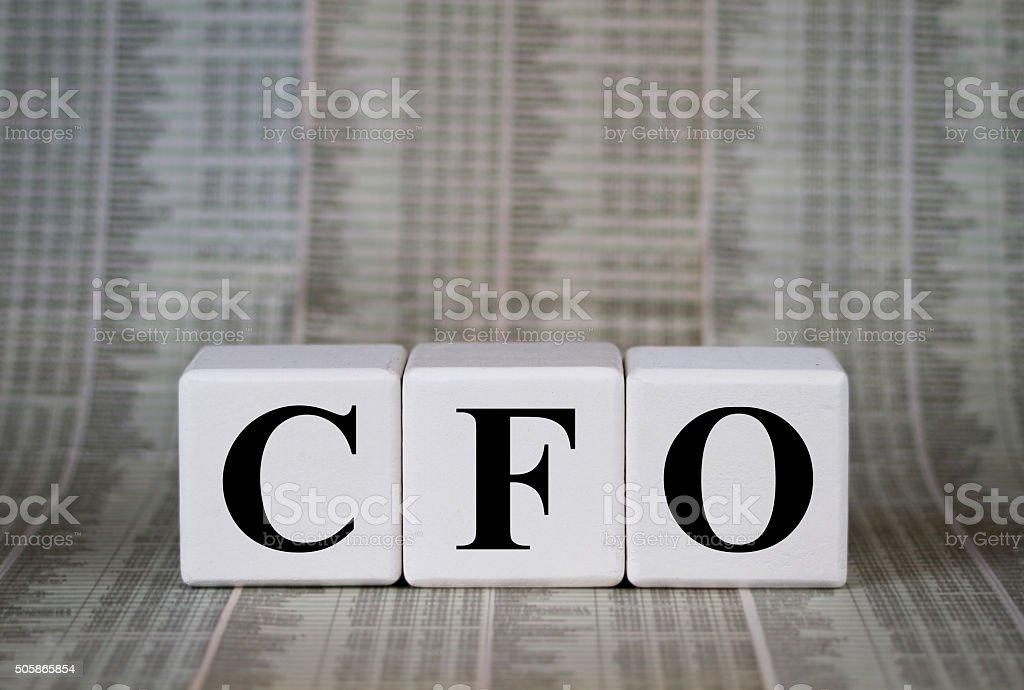 CFO stock photo