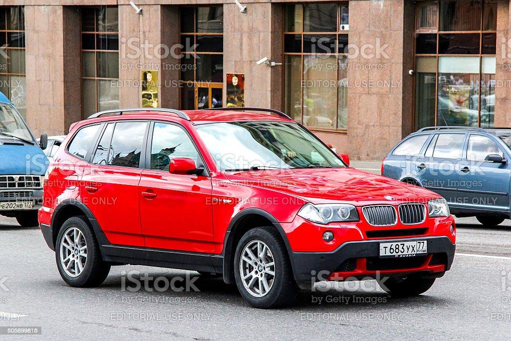 BMW E83 X3 stock photo