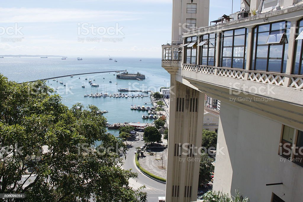 HISTORIC CENTER / SALVADOR - BA stock photo