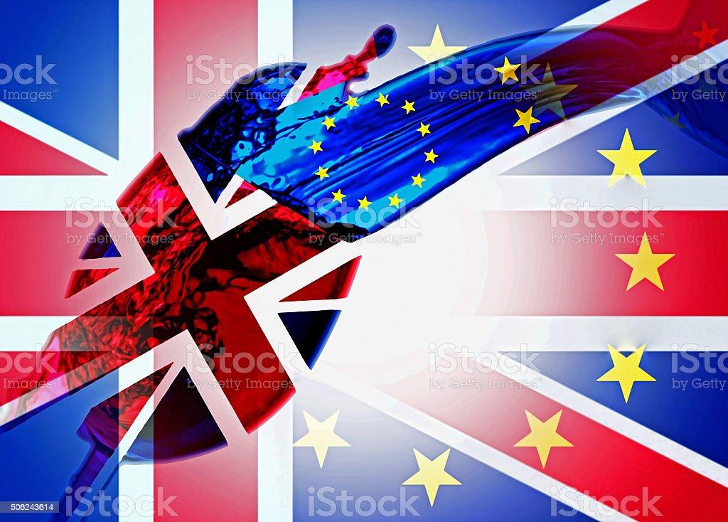 UK EURO stock photo