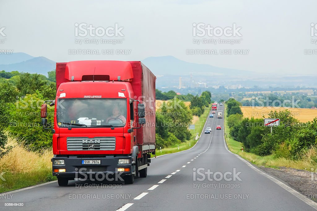 MAN TGM stock photo