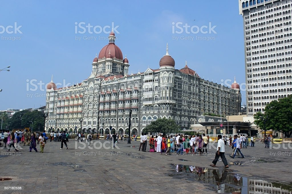 HOTEL TAJ stock photo