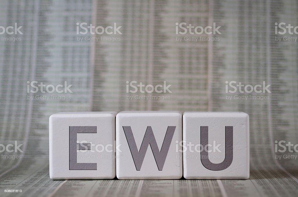 EWU stock photo