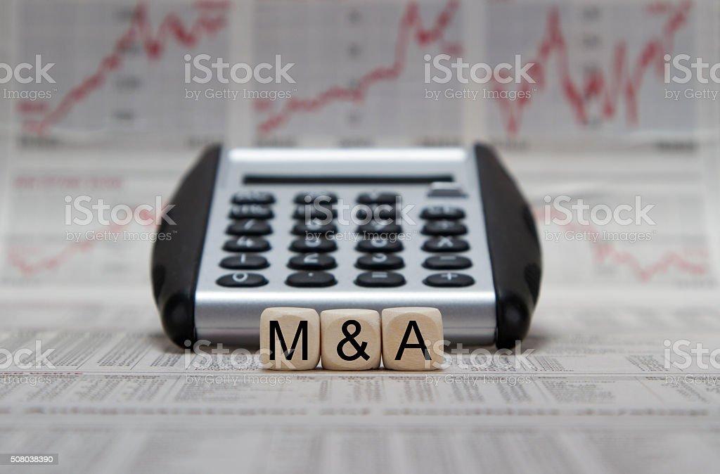 M&A stock photo