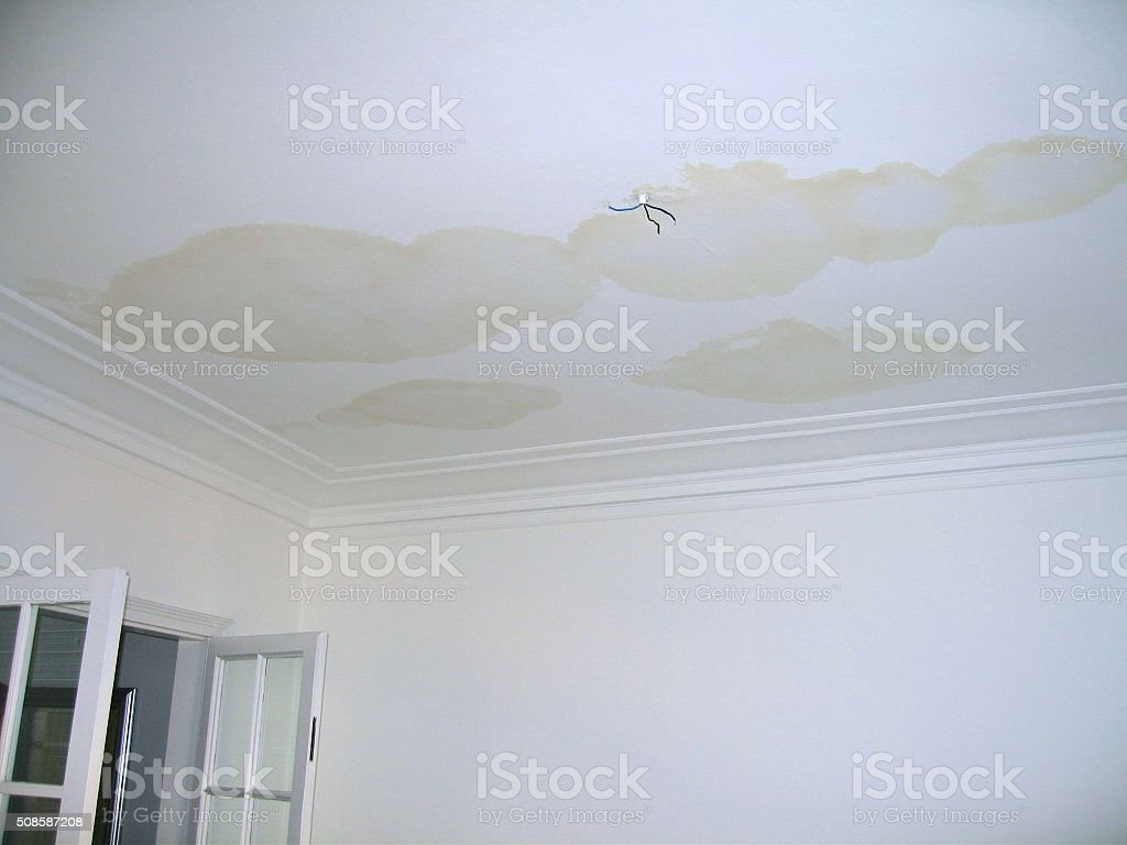 LEAK AND DOOR stock photo
