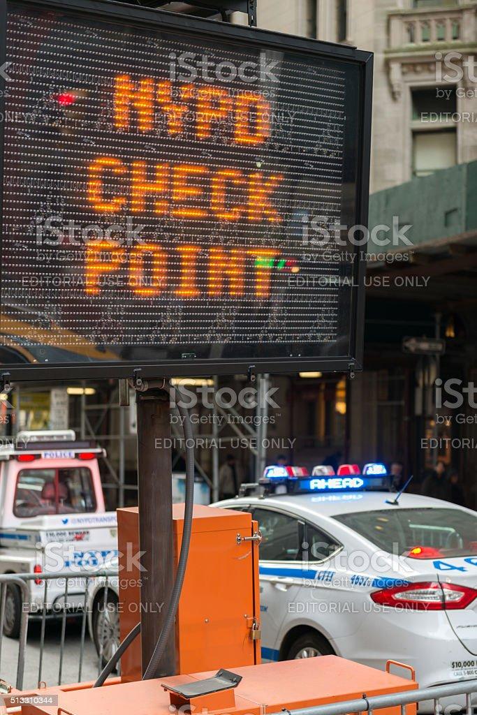 NYPD stock photo