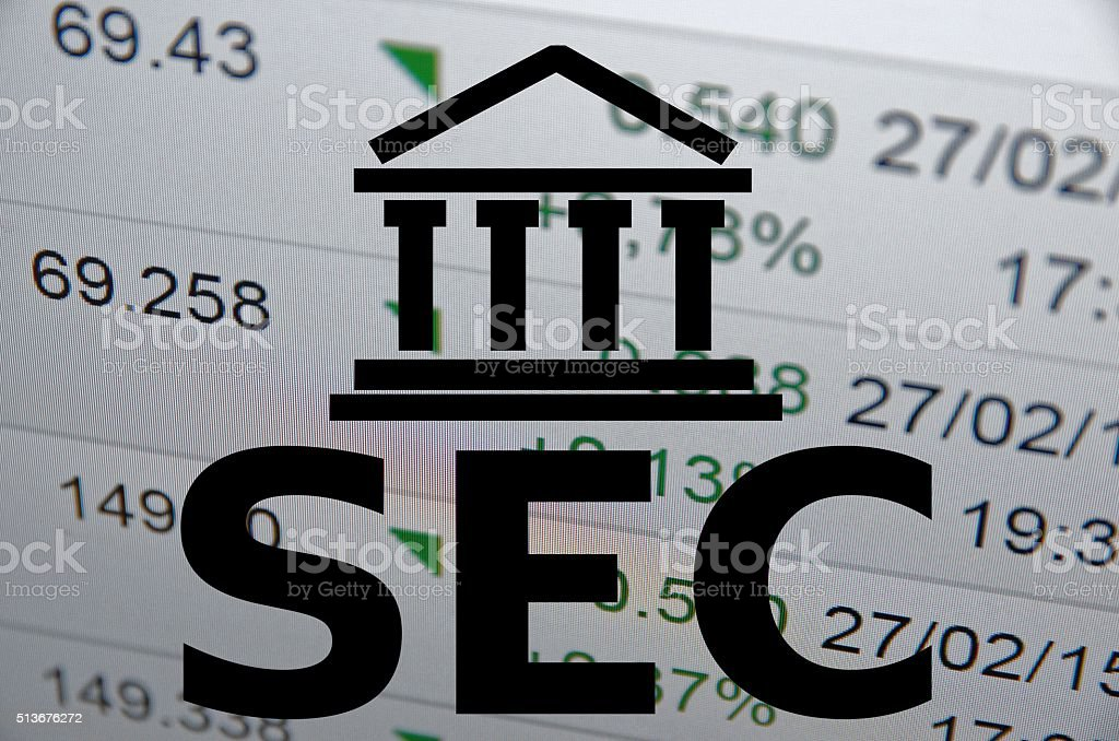 SEC stock photo
