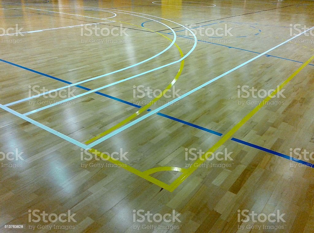 COURT LINES stock photo