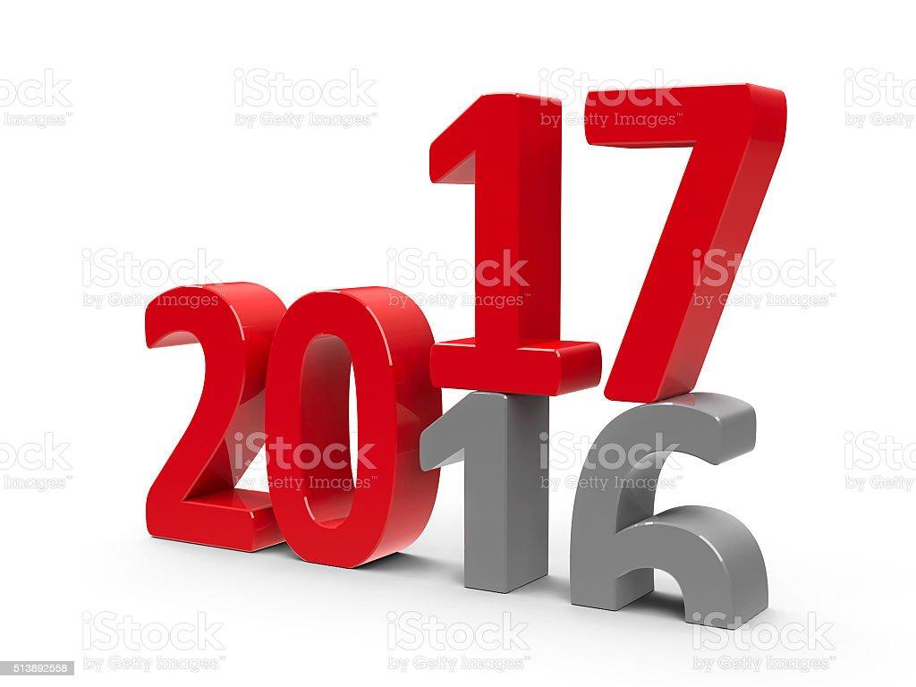 2016-2017 stock photo