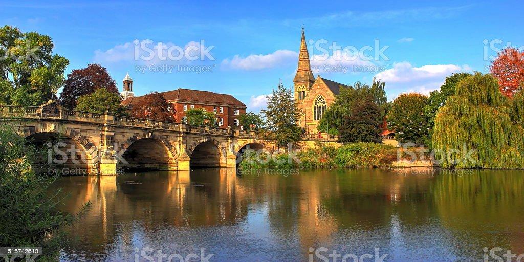 ENGLISH BRIDGE. stock photo