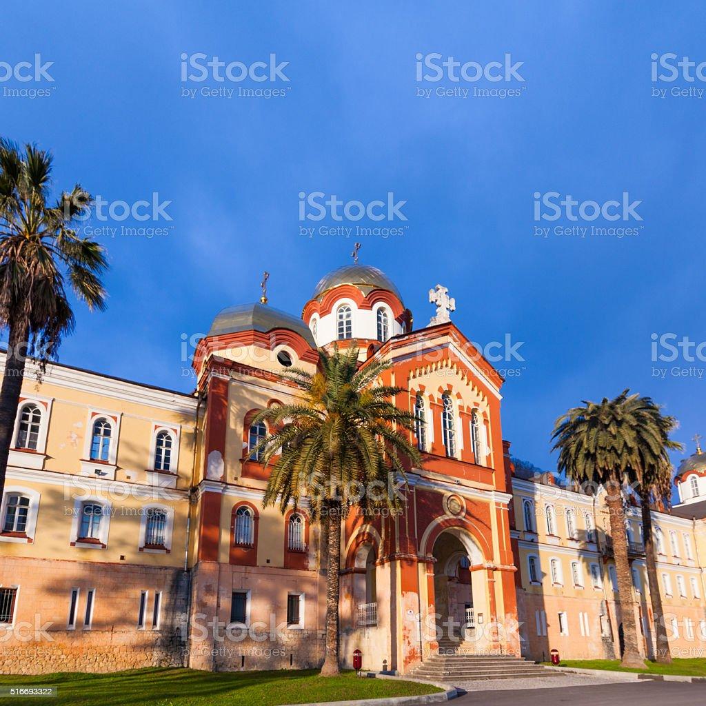 NEW ATHOS, ABKHAZIA stock photo