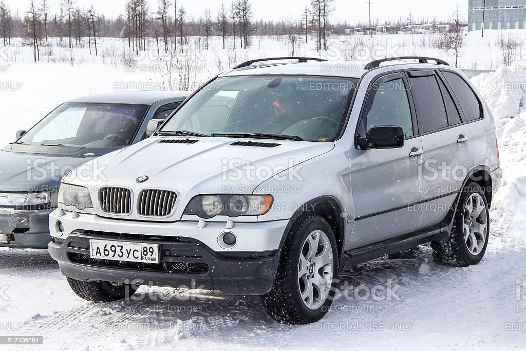BMW E53 X5 stock photo