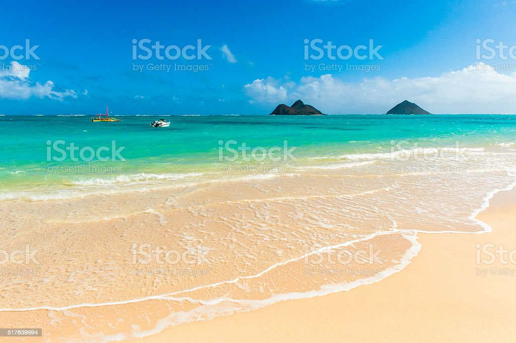 LANIKAI BEACH stock photo