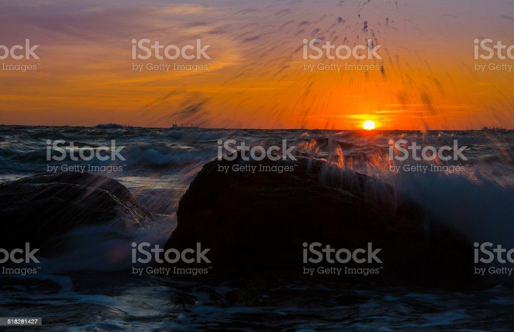 Море stock photo