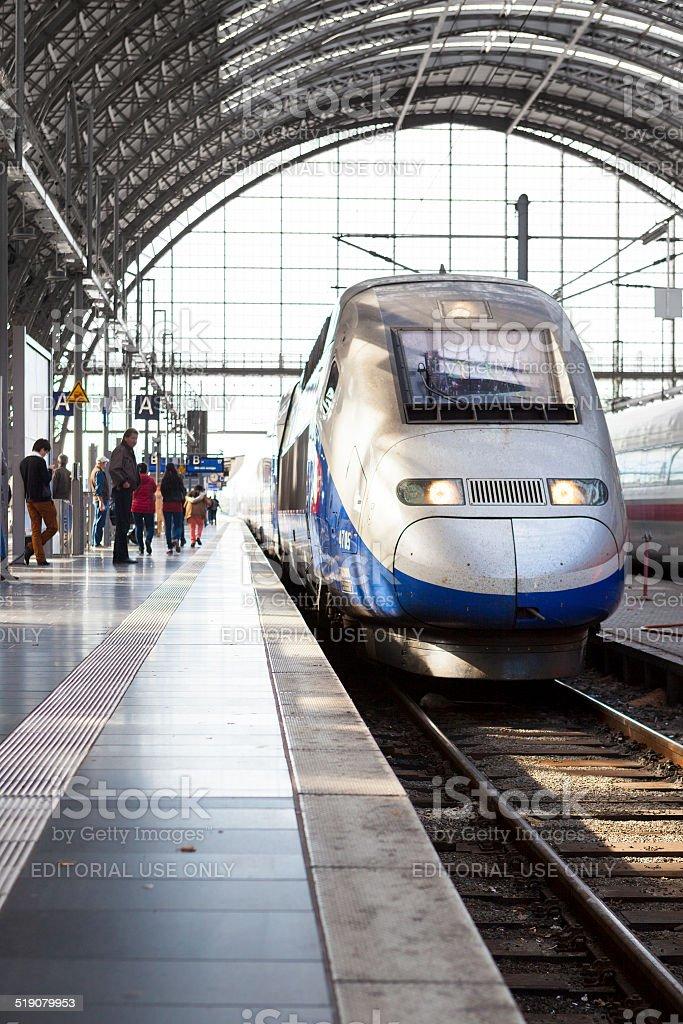TGV stock photo