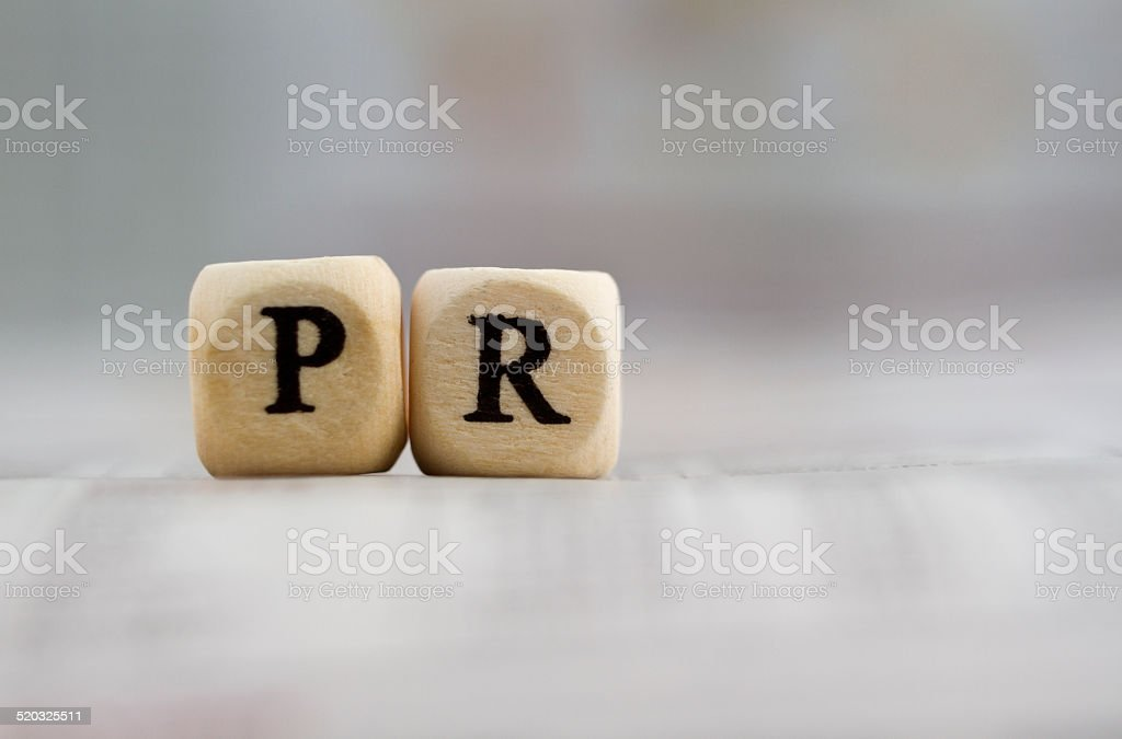 PR stock photo