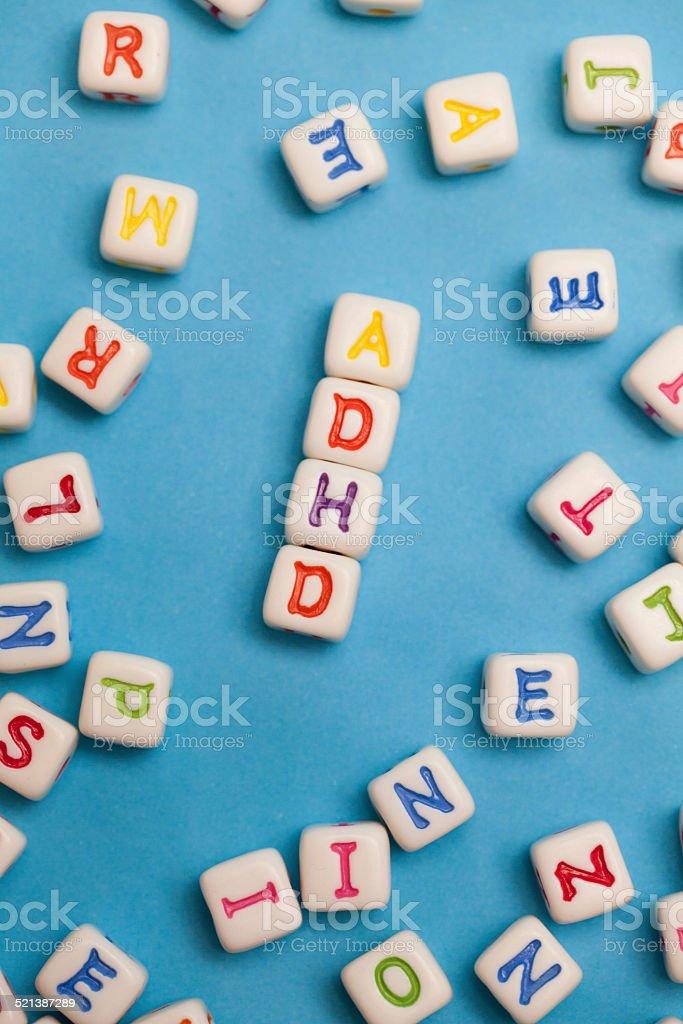 ADHD stock photo