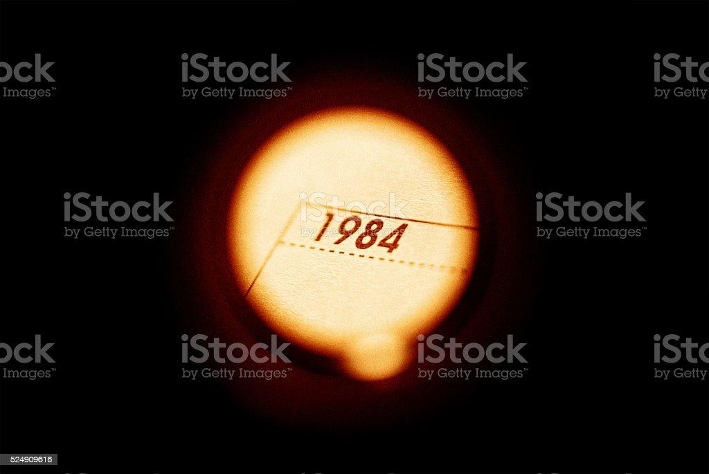 1984 stock photo