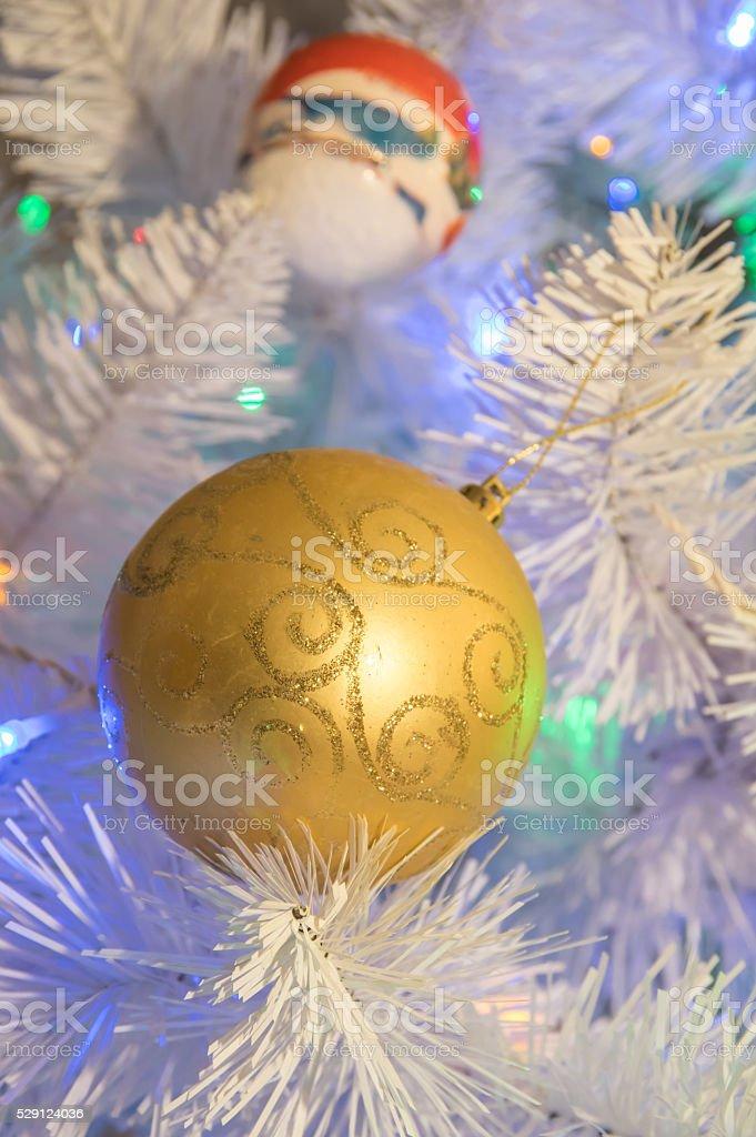 XMASS BALL stock photo