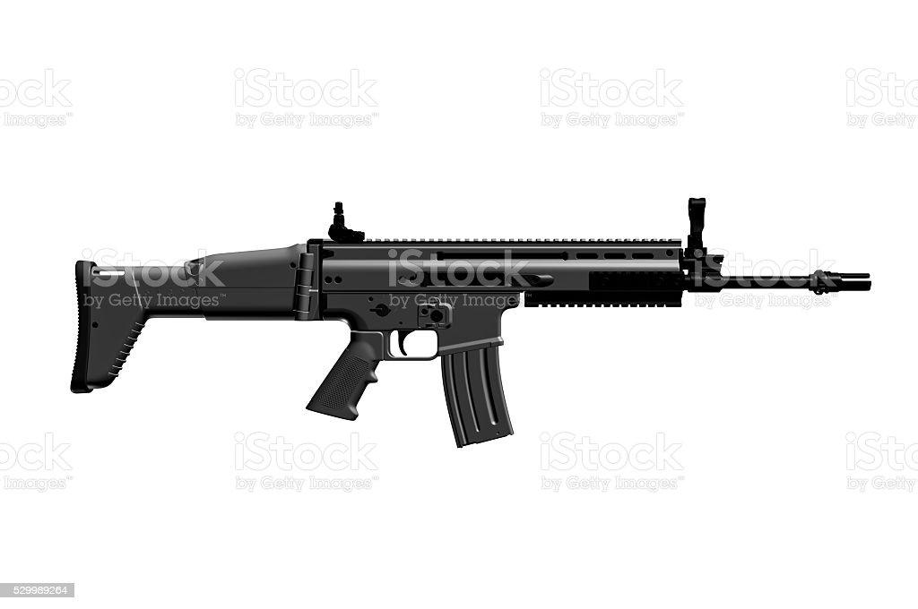 FN SCAR-L STD (Mk 16 Mod 0) stock photo