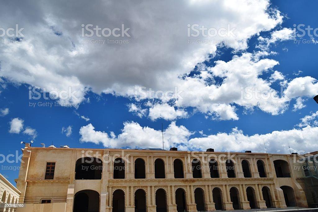 BUILDING WINDOW stock photo