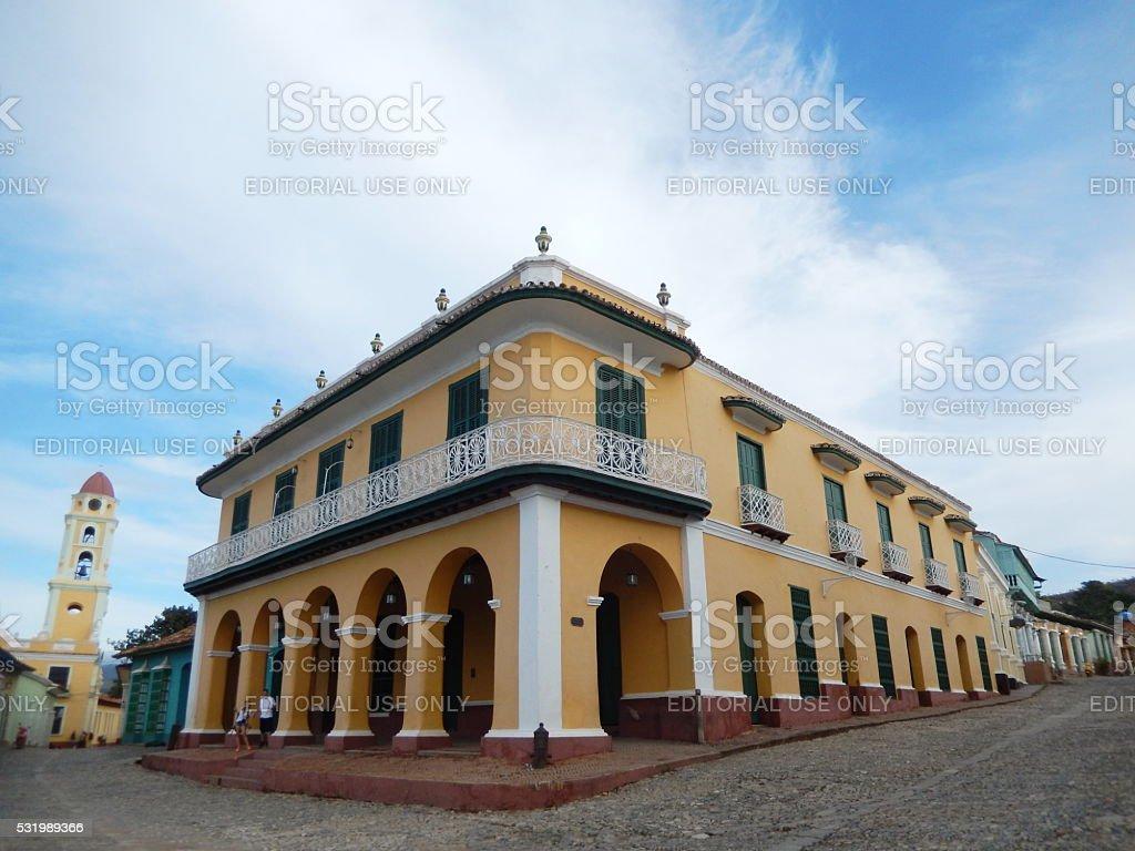 PALACIO BRUNET, TRINIDAD, CUBA stock photo