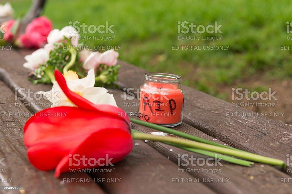 RIP stock photo