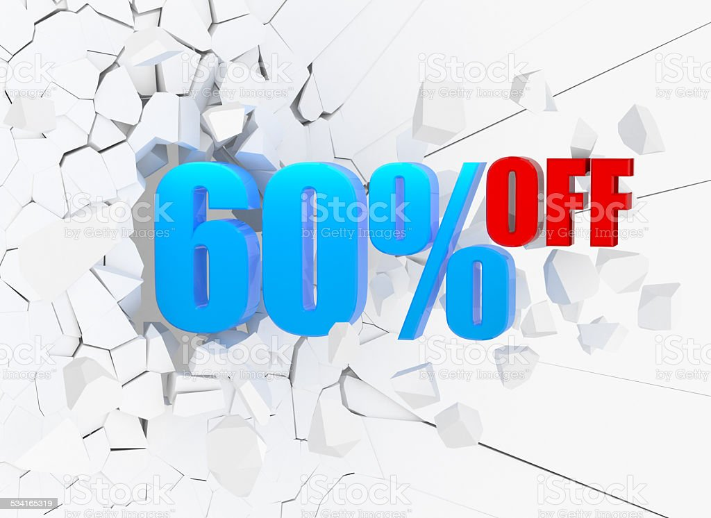 60% OFF stock photo