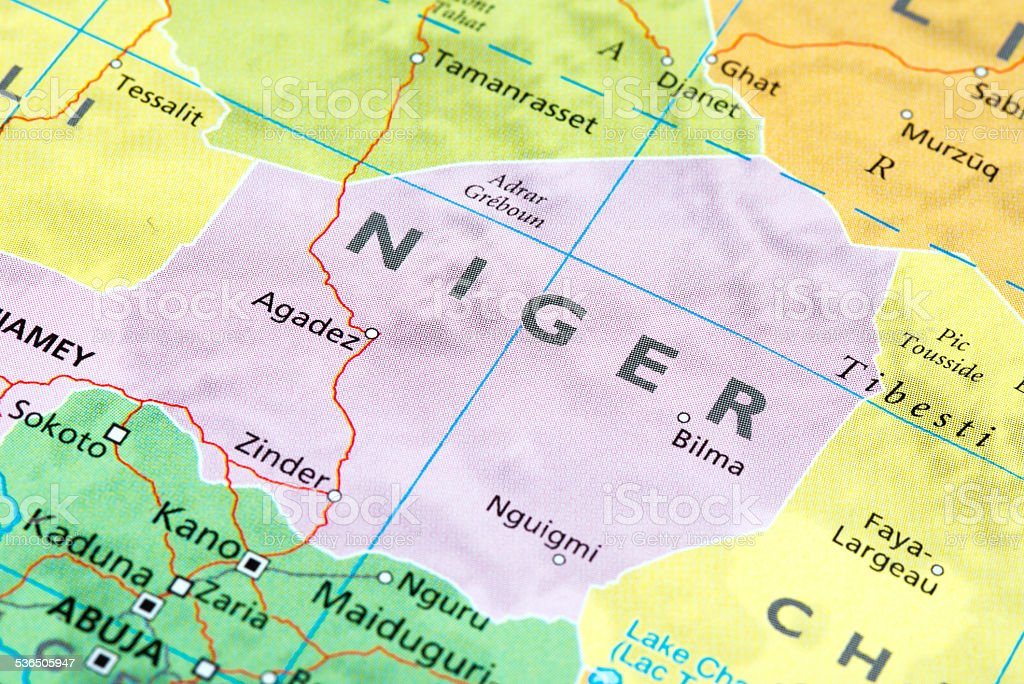NIGER stock photo