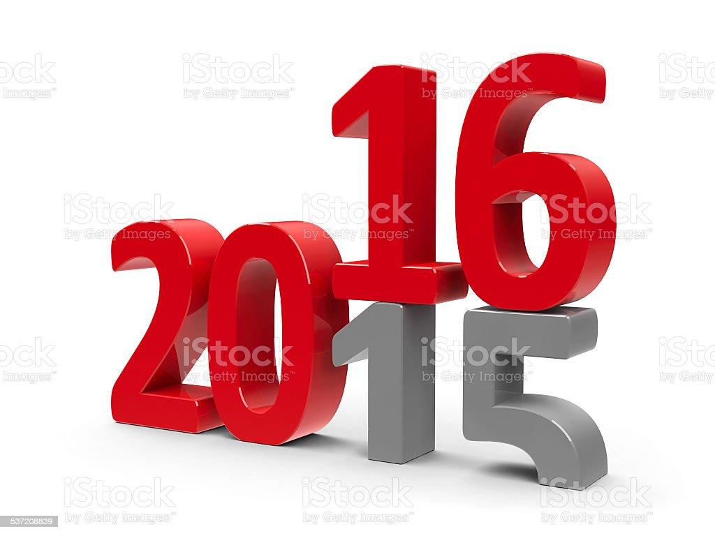 2015-2016 stock photo