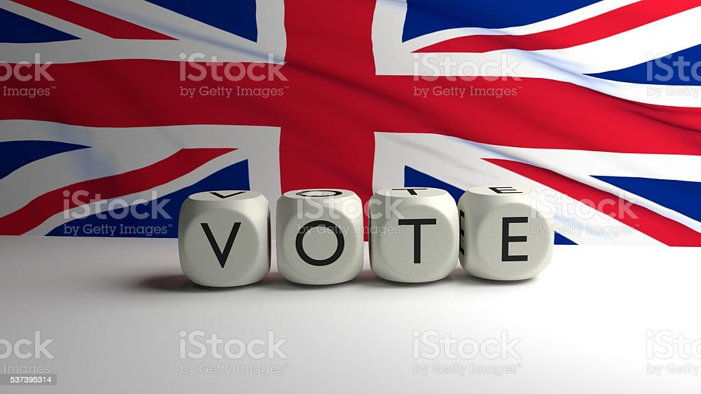 VOTE - UK stock photo