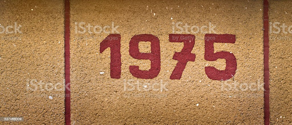 1975 stock photo