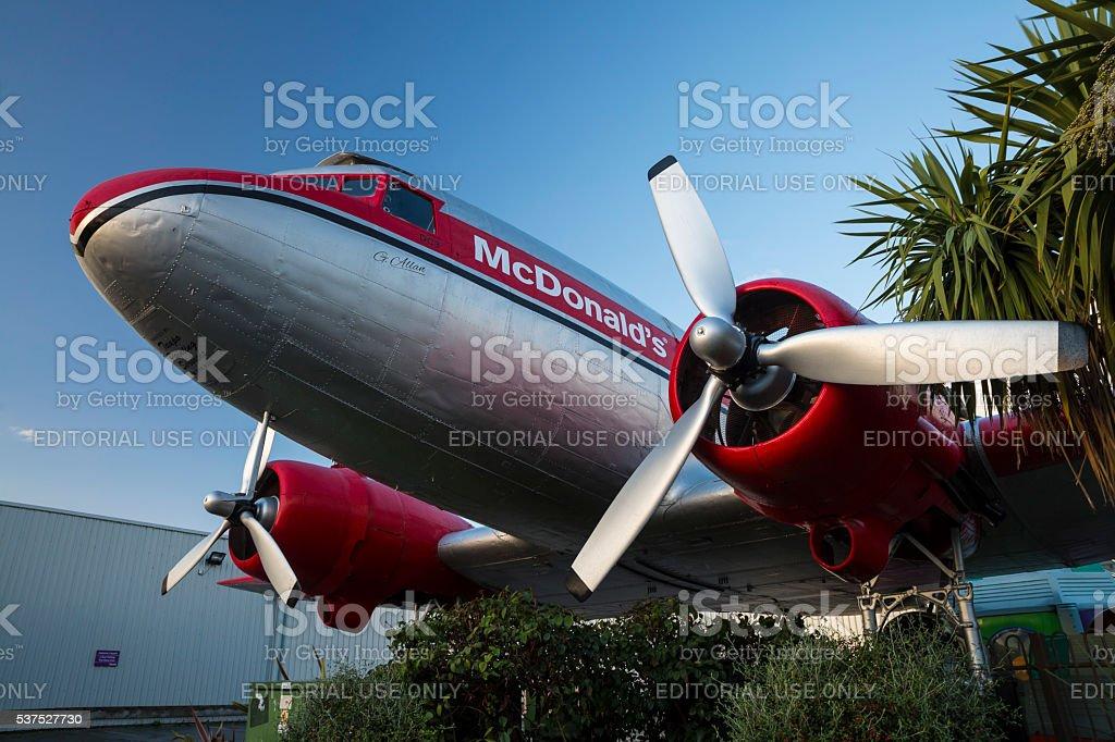 DC3 stock photo