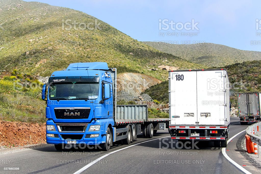 MAN TGX stock photo