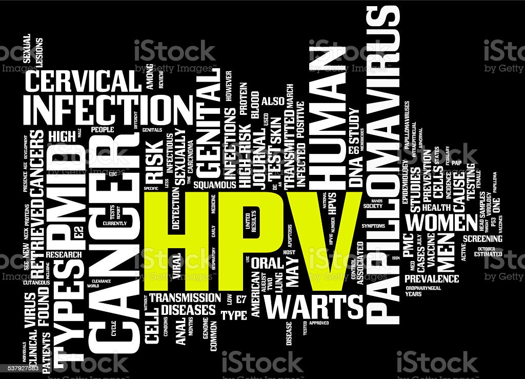 HPV stock photo