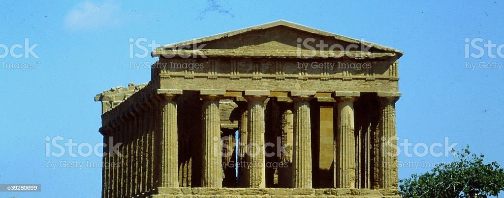 ITALY, AGRIGENTO (Akragas) - VALLEY OF THE TEMPLES stock photo
