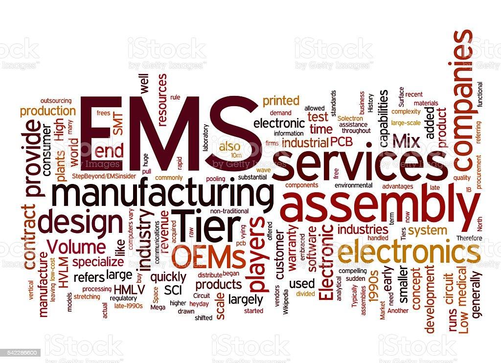 EMS stock photo