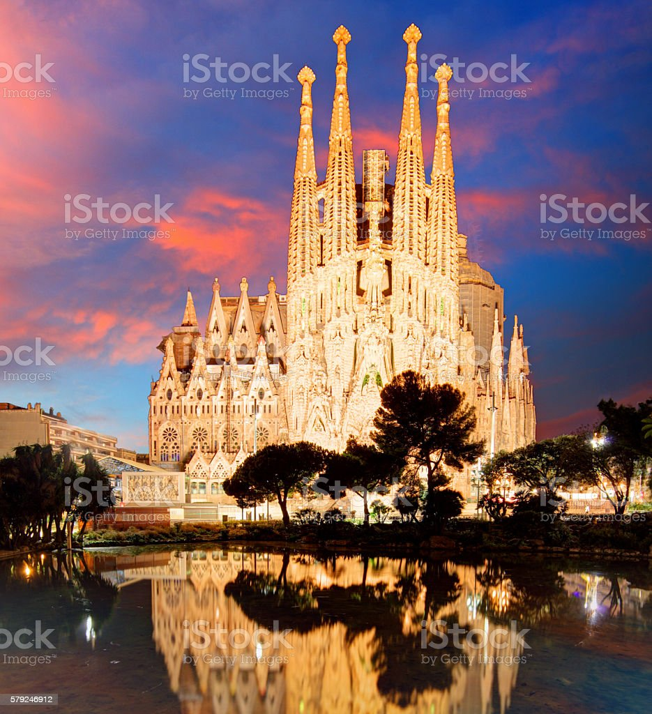 BARCELONA, SPAIN - FEB 10 stock photo