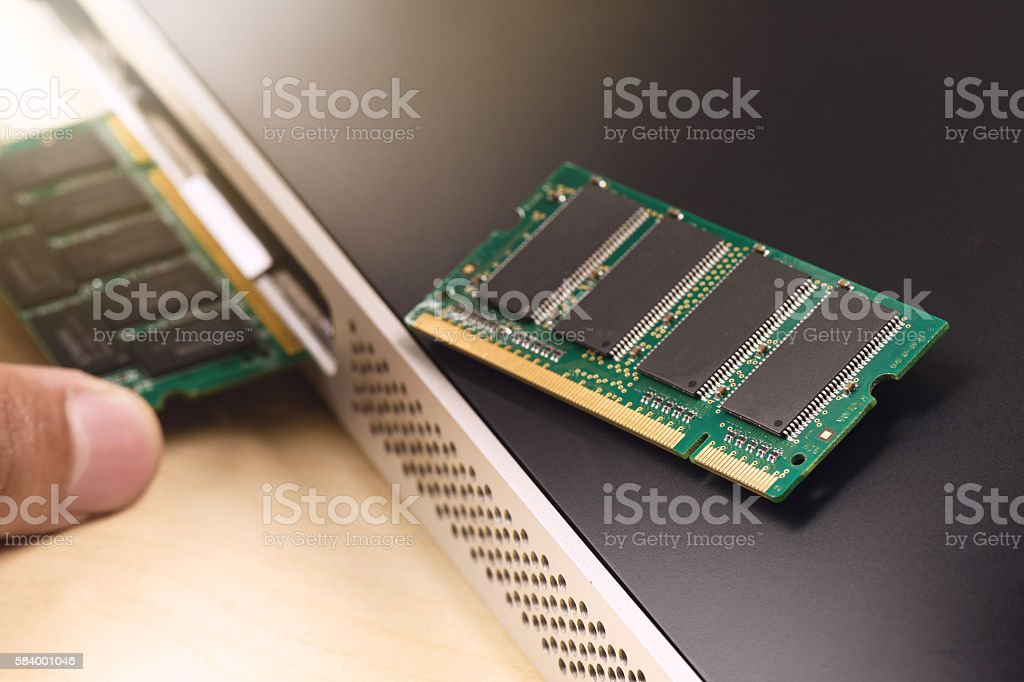 RAM stock photo