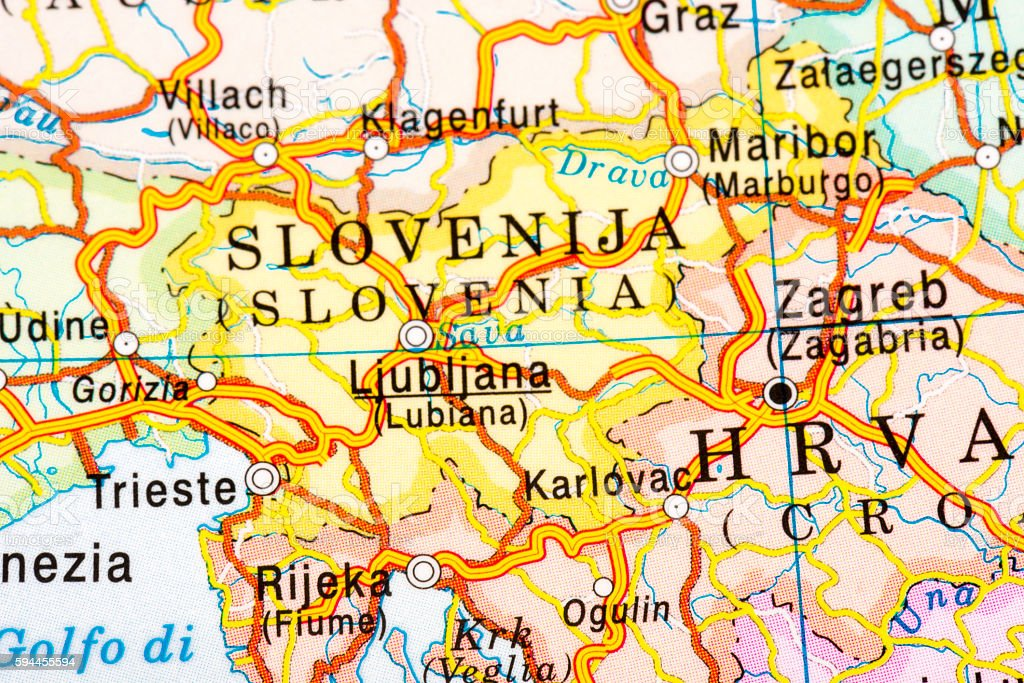 SLOVENIJA stock photo
