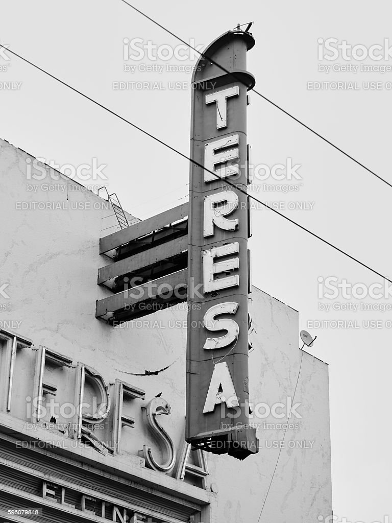 TERESA stock photo