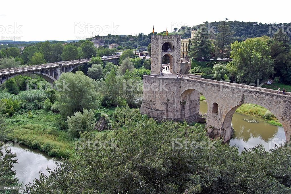 PUENTES, ACUEDUCTOS, RIOS stock photo