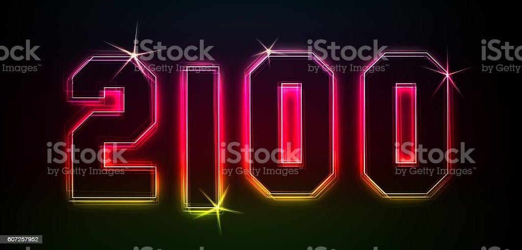 2100 stock photo