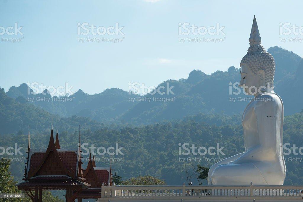 THAILAND KANCHANABURI THONG PHA PHUM TEMPLE stock photo