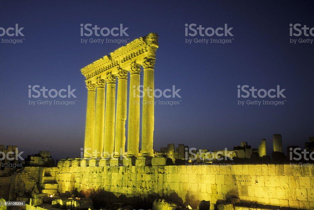 ASIA LEBANON BAALBEK stock photo