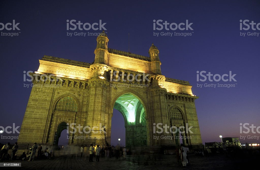 ASIA INDIA MUMBAI stock photo