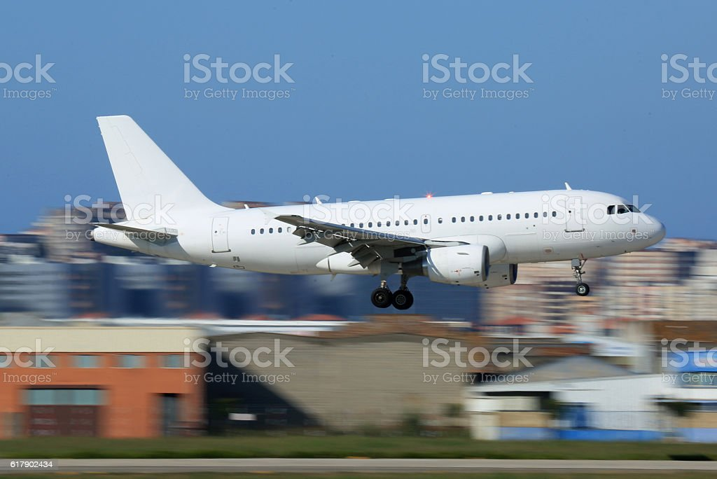 A320 stock photo